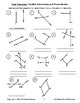 Line Segments - Parallel, Intersecting and Perpendicular Practice Sheets (FREE)