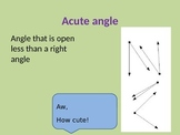 Line Segments, Rays and Angles