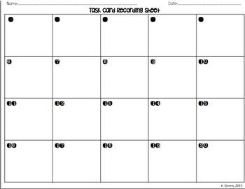 Line Segments, Rays and Angles Task Cards