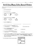 Line, Shape, Color, Space & Pattern Assessment