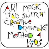 Art Magic Line Switch Creative Drawing Method- Step by Step Script Included !