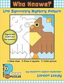 Line Symmetry Puzzle