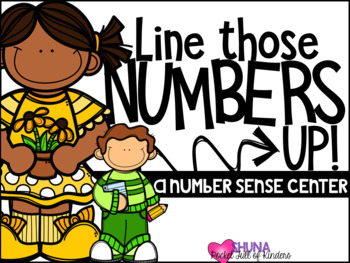 Line Those Numbers Up  {A Working With Numbers Center}