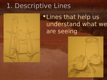 Line: Three line types and contour practice