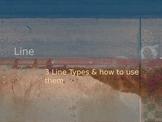 Line: Three line types and contour practice