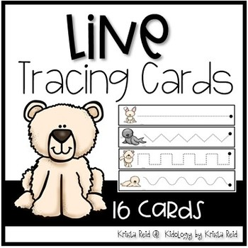 Line Tracing Cards - Pre Writing Activities