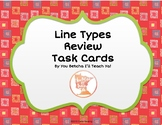 Line Types Review Task Cards