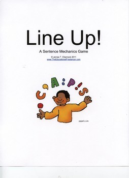LINE-UP! 3 Games in 1--Visualized Learning: Sentence Capitalization-Punctuation