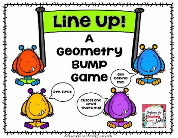 Line Up! BUMP Game for Math Centers or Fast Finishers
