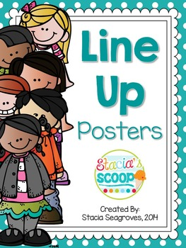 Line Up Chant Posters Freebie