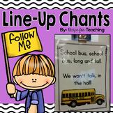 Line-Up Chants