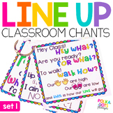 Line Up Chants | Classroom Management