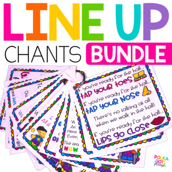 Line Up Chants and Posters BUNDLE