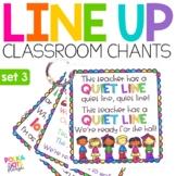 Line Up Chants  Set 3
