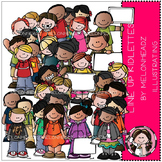 Line Up clip art - Kidlettes - by Melonheadz