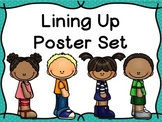 Line Up/ Lining Up Poster Set