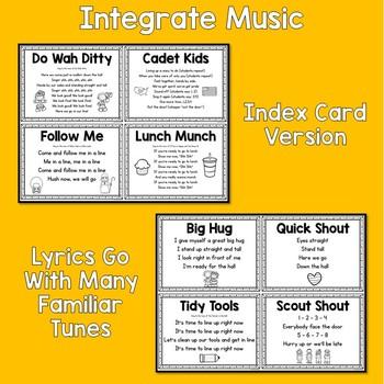 Line Up Lyrics - Classroom Management Tool