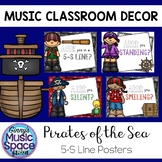 5-S Line Up Posters Pirate Theme