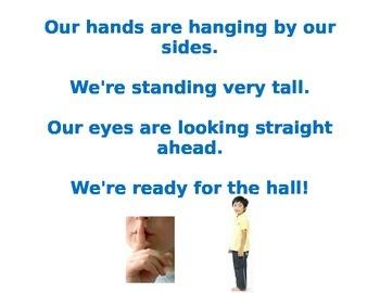 Line Up Song/Poem