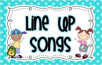 Line Up Songs Cards