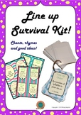 Line Up Survival Kit - Chants, Rhymes and Good Ideas