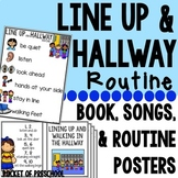 Line Up and Hallway Routine Posters, Books, Songs, and Flo
