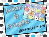 Line and Angle Geometry Maze Activity