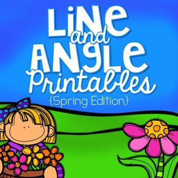 Line and Angle Printables {Spring Edition}
