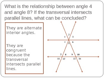 Line and Angle Relationships Triangle Activity