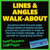 Line and Angle Relationships Walk-About