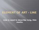 Element of Art-Line Powerpoint