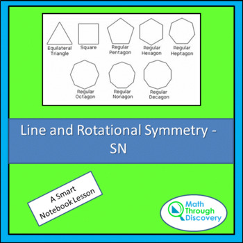 Geometry:  Line and Rotational Symmetry