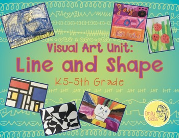 Line and Shape Unit for Elementary Art