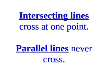 Line and line segments