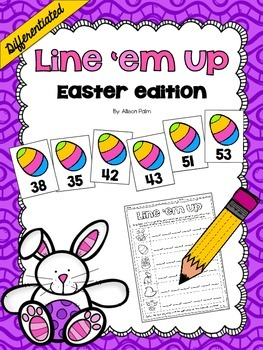 Line 'em Up {Easter edition}
