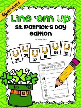 Line 'em Up {St. Patrick's Day edition}