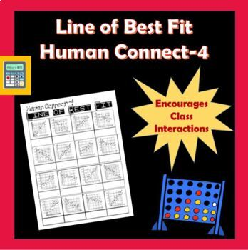 Line of Best Fit Human Connect-4