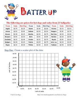 Line of Best Fit/Trend Line/Scatter plot Notes & Practice (facebook)