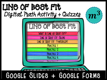 Line of Best Fit_DIGITAL NOTES & 2 QUIZZES (GOOGLE)