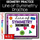Line of Symmetry Mini Game