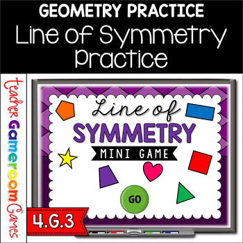 Line of Symmetry Mini Game