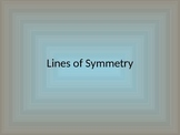 Line of Symmetry PowerPoint