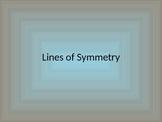 Line of Symmetry PowerPoint