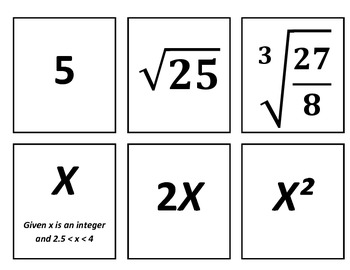 """Common Core """"Line-up"""" Building Number Sense K-12 Lesson Plan"""