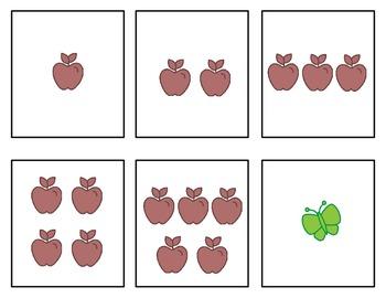 Common Core-Building Number Sense Kindergarten Card Set 0 - 5