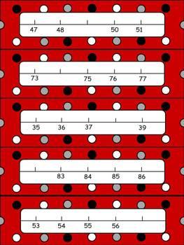 Line-up Ladybugs 1.NBT.A.1