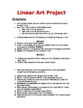 Linear Algebra Art Project