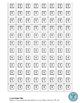 Linear Algebra Tiles - Black and White