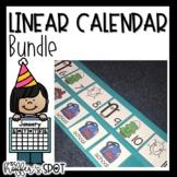 Linear Calendar -Growing Bundle