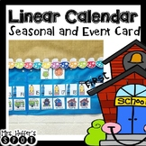 Linear Calendar -Holiday and Special Day Cards